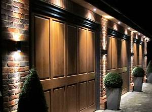 Outdoor lighting over garage : Awesome outdoor garage lights with beautiful led
