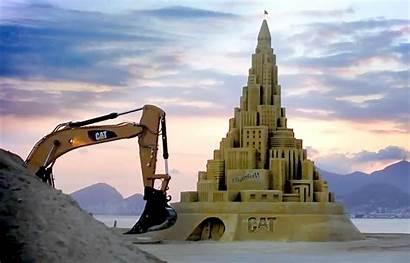 Castle Sand Caterpillar Tallest Guinness Ever Built