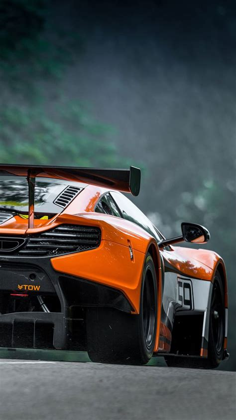 Best Car Wallpapers App by Tap And Get The Free App S World Mclaren Orange Car