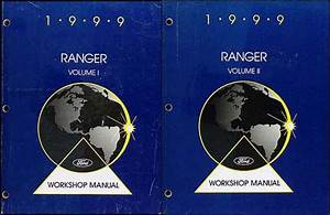 1999 Ford Ranger Wiring Diagram Manual Original