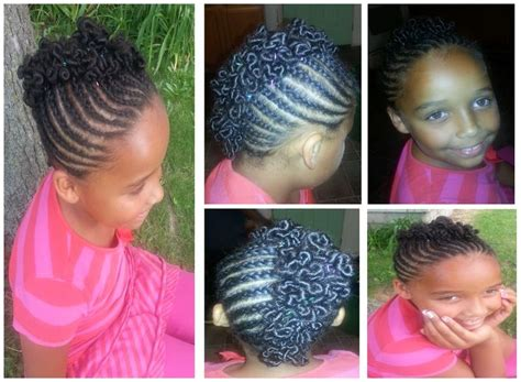 Mohawk With Coils... Very Cute Style I Did On My Little