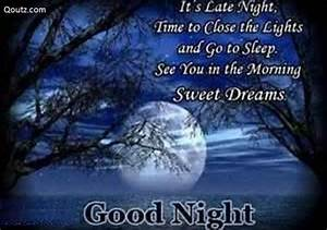 Good night quotes greetings and facebook status greetings ...