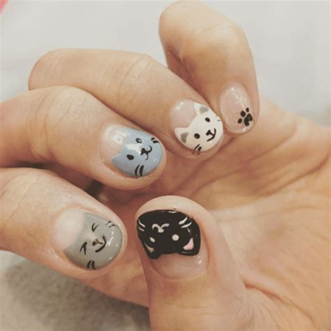 cat nail designs 17 cat nail designs that will make you the coolest cat