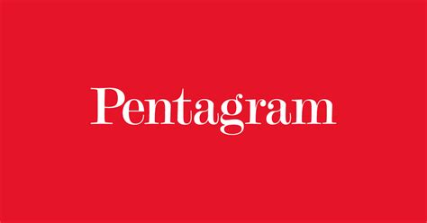Pentagram — The world's largest independent design consultancy