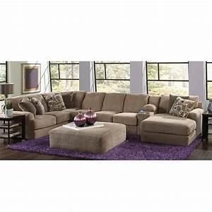 flex room malibu 3 piece sectional in taupe nebraska With sectional sofa nebraska furniture mart