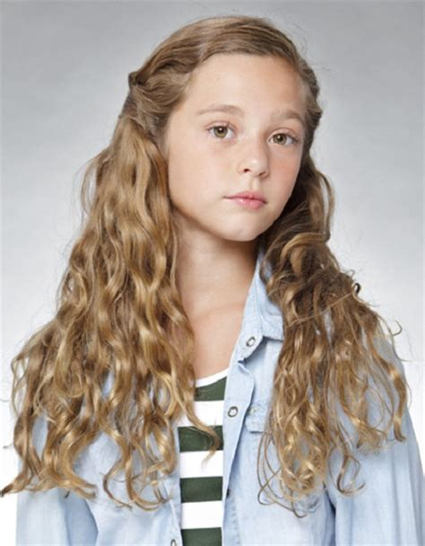 Long Hairstyles: Kids Girl Hairstyles With Long Curly Hair