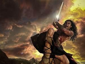 Badass New Photo of Jason Momoa as Marcus Nispel's Conan ...  Conan