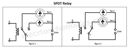 spdt relay single pole throw