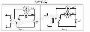 Volt Double Pole Double Throw Relay Wiring Diagram