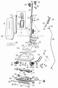 Oreck U4150h2r Parts List And Diagram   Ereplacementparts Com