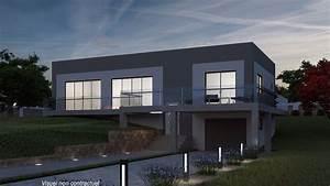 Maison Moderne Toit Plat : castellane maison avec tour de style provencale ~ Nature-et-papiers.com Idées de Décoration