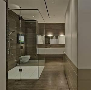 Badezimmer Ideen Fliesen : badezimmer ohne fliesen ideen f r fliesenfreie ~ Michelbontemps.com Haus und Dekorationen