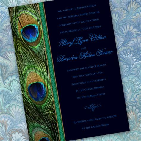 23+ Peacock Wedding Invitation Templates  Free Sample. Facebook Banner Template. Facebook Cover Photo Template. Printable Report Card Template. Impressive Email Marketing Resume Sample. Bible Verse For High School Graduate. Printable Lesson Plan Template. Easy Ceramic Tile Installer Cover Letter. Peacock Invitations Template Free