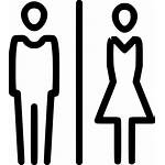 Icon Toilet Male Wc Restroom Clipart Svg