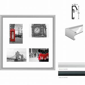 Bilderrahmen 4 Bilder : nielsen galerie bilderrahmen junior quadratisch 4 bilder ~ Orissabook.com Haus und Dekorationen