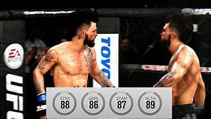 EA UFC 3 - New Fighter Showcase - Mike Perry Hits HARD ...