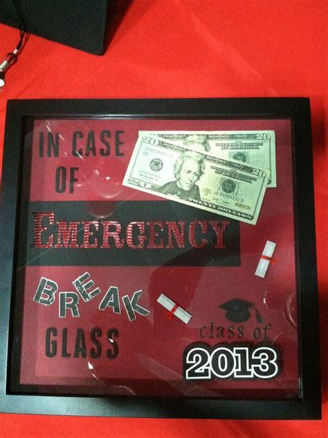 graduation gift idea shadow box   case