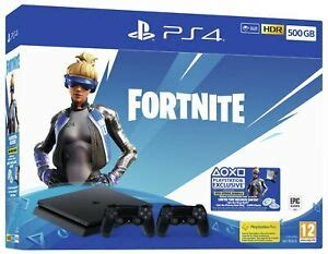sony ps gb  fortnite neo versa console bundle