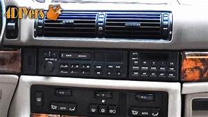 Diy  Bmw Radio Removal