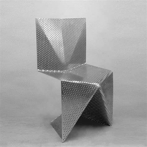 Folded Aluminum Chair from Tobias Labarque