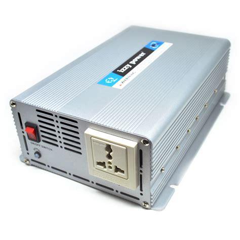 Izzy Power Dc To Ac Car Inverter Hte100012 1000 Watt 12