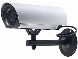 Auto überwachungskamera Gegen Vandalismus : visortech profi berwachungskamera attrappe alu geh use ~ Michelbontemps.com Haus und Dekorationen