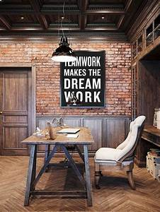 Teamwork, Makes, The, Dream, Work, Typography, Poster
