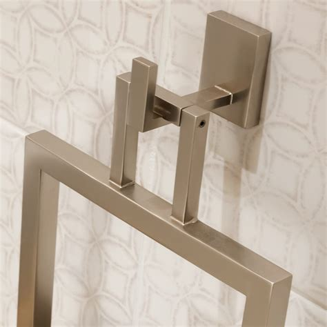 modern bathroom hand towel holder
