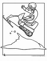 Snowmobile Coloring Pages Winter Birthday Snowmobiles Drawing Jr Cat Arctic Classroom Printable Snow Sheets Window Snowman Riding Ice Fishing Spring sketch template