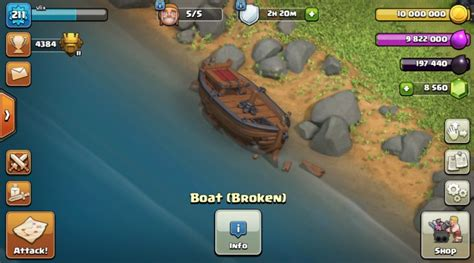 Clash Of Clans Boat Island by Clash Of Clans May Update What S New
