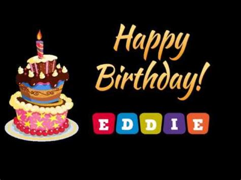 Happy Birthday Eddie Images Happy Birthday Eddie Cake Pictures To Pin On