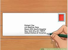 How to Address Envelopes in Care Of 11 Steps with Pictures