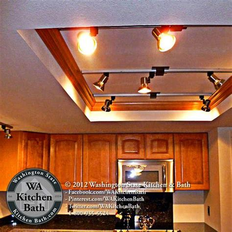 How to update recessed lighting to led: (800) 935-5524 Updated Light Box in Kitchen remodel Bothell WA   Kitchen recessed lighting ...
