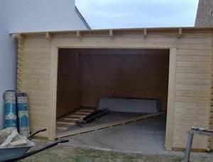 Garage En Bois Leroy Merlin : garage bois narva 1 voiture m leroy merlin ~ Melissatoandfro.com Idées de Décoration