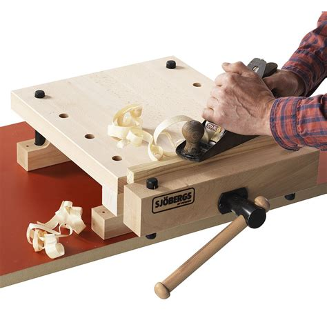 sjobergs smart workstation pro vise rockler woodworking