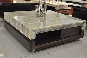 rustic-modern-coffee-table-marble : Rustic Modern Coffee