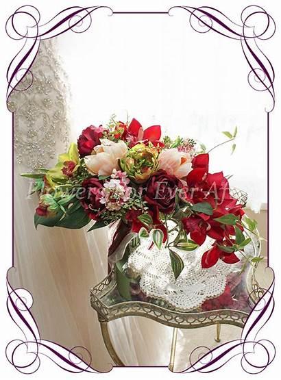 Julia Bridal Bouquet Bouquets Flowers Artificial Packages