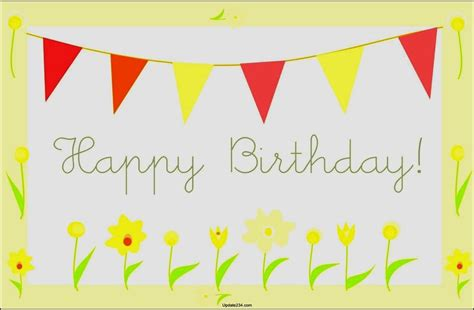 free happy birthday template happy birthday card template free download template