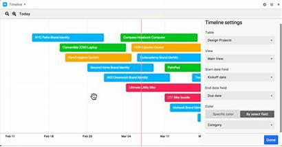 Timeline Block Airtable Zoom Support Buttons