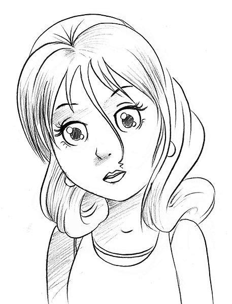 young girls drawing  getdrawingscom   personal