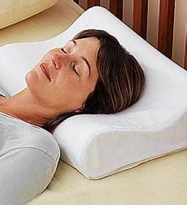 memory foam pillow With back to sleep pillow