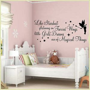 Bedroom Phrases by Wall Stickers Quotes Stardust Glistening