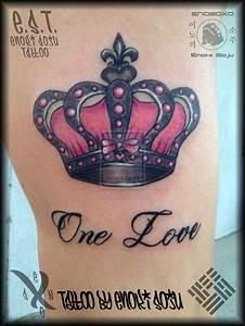 Her Crown Tattoo By Enoki Soju by enokisoju on DeviantArt