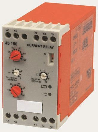 Vac Broyce Control Current Monitoring Relay With