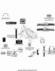 Mtd 13ax795s004  2015  Parts Diagram For Label Map 13ax795s004