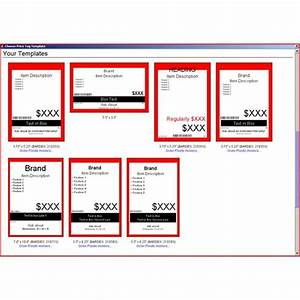 price tag template free With template for price tags