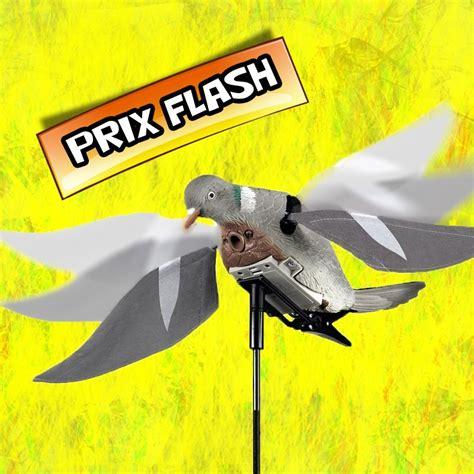 lot de 4 air pigeon forme de palombe 233 lectrique 224 ailes battantes - Pigeon Electrique Decathlon