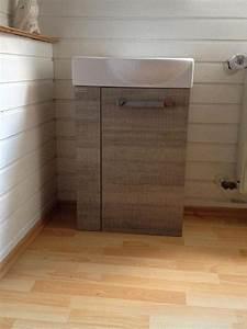 Möbel Gäste Wc : fackelmann g ste wc waschbecken mit unterschrank neu in ~ Michelbontemps.com Haus und Dekorationen