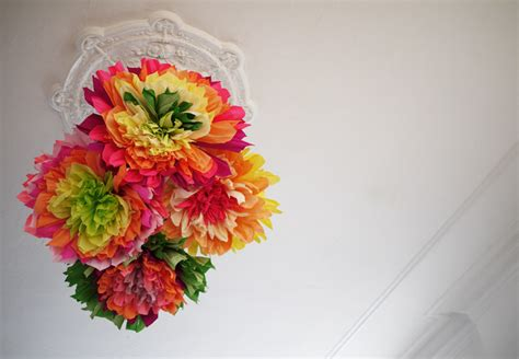 Colorful Wedding Diy Project Reception Decor Crepe Paper