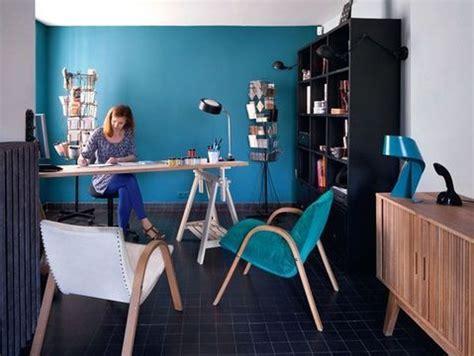 le de bureau bleu déco bureau bleu